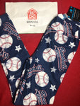 Kids Baseball Leggings