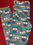 Cute Owls Legging with Pockets