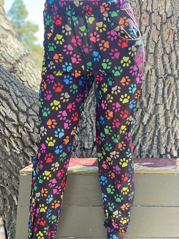 Colorful Paws Unisex Joggers Adult