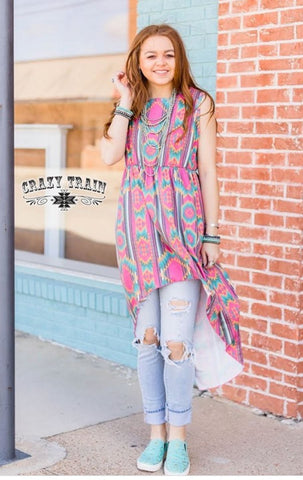Crazy Train the Highs & Lows Tank Tunic