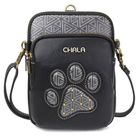 Chala Paw Print Uni Cell phone Crossbody