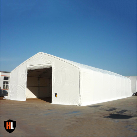 DOUBLE TRUSSED STORAGE TENTS