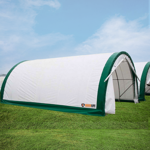 SINGLE TRUSSED STORAGE TENTS