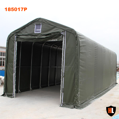 185017DP - 18 ft Wide Large Garage Tent