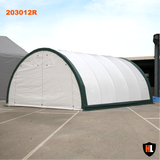 203012R - 20 x 30 x 12 ft Single Trussed Storage Tent