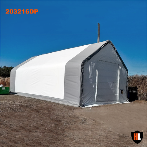 203216DP - Double Trussed Storage Tent
