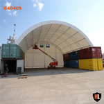 C4040S - 40 x 40 ft  Container Shelter