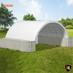 C2640 - 26 x 40 ft Container Shelter