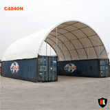 C4040N - 40 x 40 ft Container Shelter