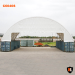 C6040S - 60 x 40 ft Container Shelter