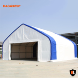 H434325P - Double Trussed Aircraft Hangars