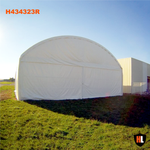 H434323P - Double Trussed Aircraft Hangars