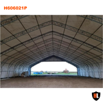 H606021P - Double Trussed Aircraft Hangar