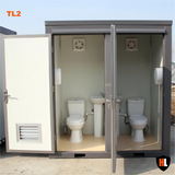 Double Cubicle Toilet