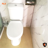 Toilet with Shower Cabin