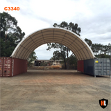 C3340 - 33 x 40 ft Container Shelter