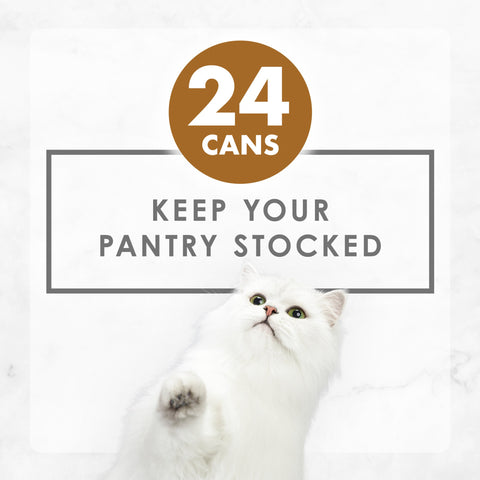 Purina Fancy Feast Gravy Wet Cat Food  Variety Pack, Gravy Lovers Poultry & Beef Feast Collection - (24) 3 oz. Cans