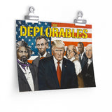 The Deplorables Fine Art Paper Poster by Doug Giles