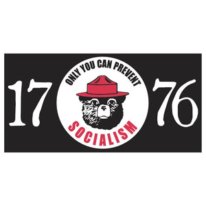 1776 Only You Can Prevent Socialism Sticker