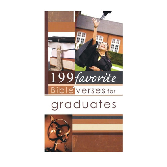 Inspirational Bible Verses for Graduates (Paperback) Book