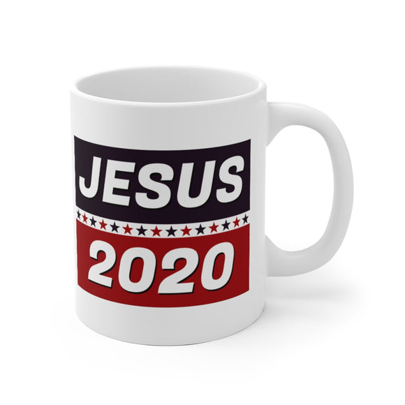 Jesus 2020 (the only way) Ceramic Mug (11oz and 15oz)
