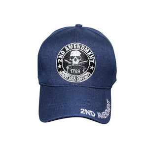 2nd Amendment 1789 America's Original Homeland Security Hat (Custom Embroidered) - Flag and Cross