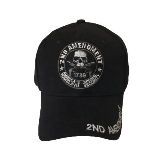 2nd Amendment 1789 America's Original Homeland Security Hat (Black)