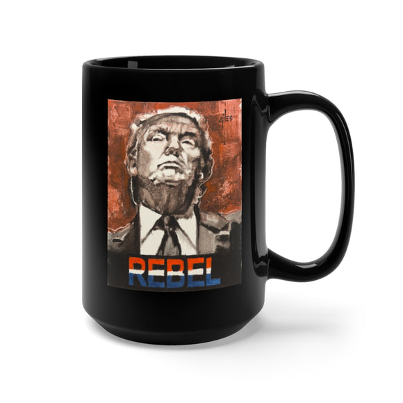 Trump Rebel Ceramic Mug 15oz