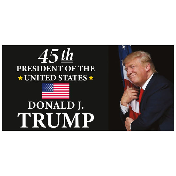 45th President Donald J Trump Bumper Sticker