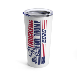 Truckers for Trump 2020 Tumbler 20oz