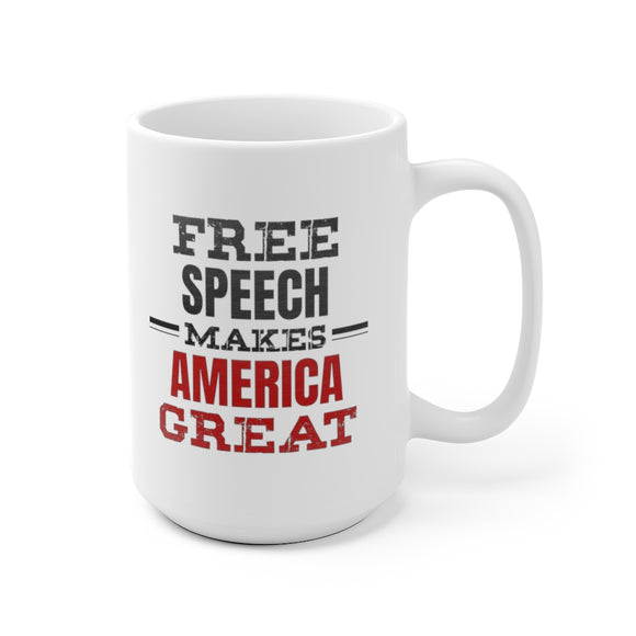 Free Speech Makes America Great Mug (2 sizes)