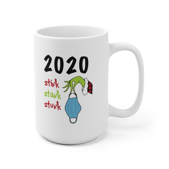 2020 Stink Stank Stunk Ceramic Mug (2 Sizes)