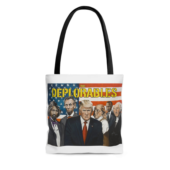 The Deplorables AOP Tote Bag