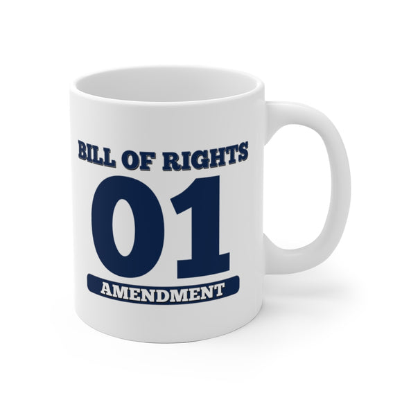 Bill of Rights 01 Amendment Ceramic Mug