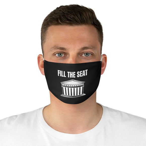 Fill the Seat Face Mask