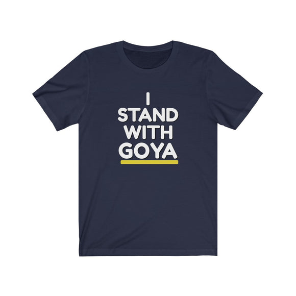 I Stand With Goya Unisex Cotton T-shirt