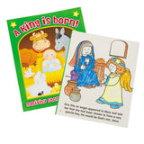 A King is Born Nativity Coloring Book