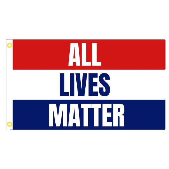 All Lives Matter 3'x5' 68D Rough Tex® Flag