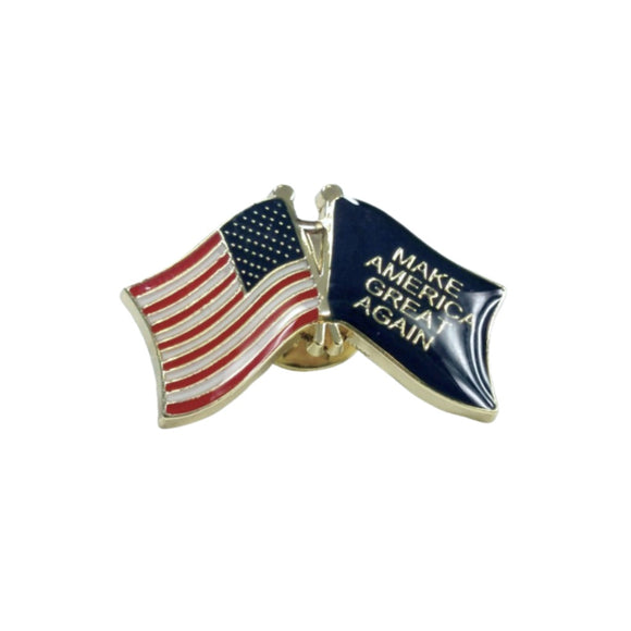 American Flag - MAGA Flag Enamel Collectors Item Pin