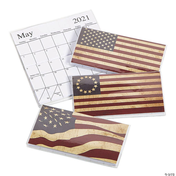 Americana Pocket Calendars 2021-2022 (3 Pack)