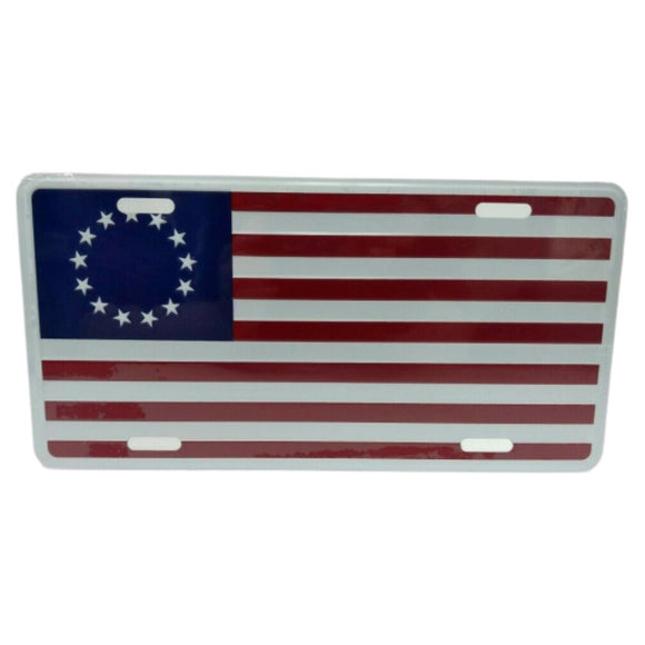 Betsy Ross Flag License Plate