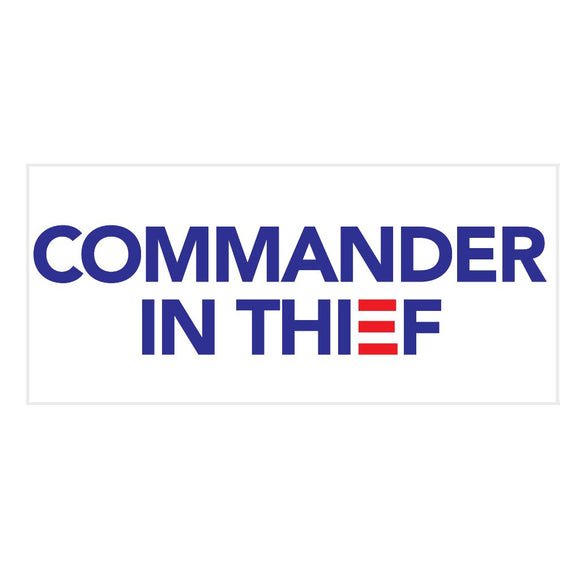 Commander in Thief Sticker