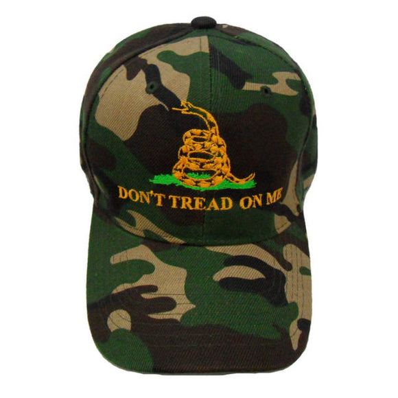 Camo Don't Tread On Me Custom Embroidered Hat