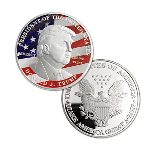 45th President Donald J Trump Commemorative Coin