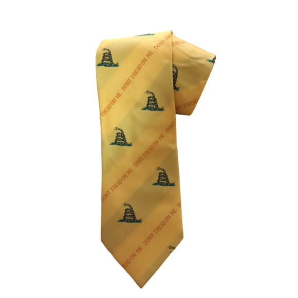 Don't Tread on Me Gadsden Tie