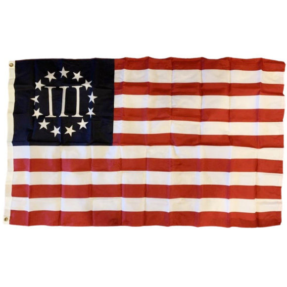 III Betsy Ross 1776 100D ROUGH TEX® Flag