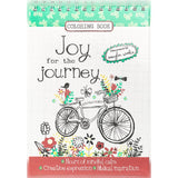 Joy for the Journey Adult Coloring Book Artist Amylee Weeks