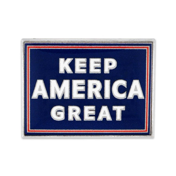 Keep America Great Nickel Plated Lapel Pin