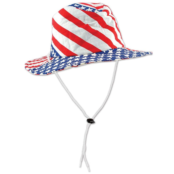 Patriotic Stars & Stripes Hat