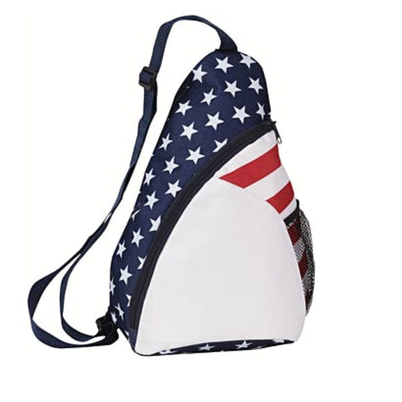 Patriotic Sling Backpack 15